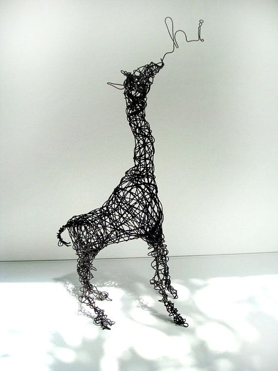 The 37 best wire art images on Pinterest | Wire, Wire art and Wire ...