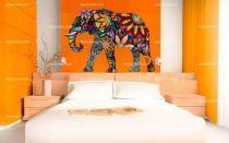 Stickers éléphant d\'Asie
