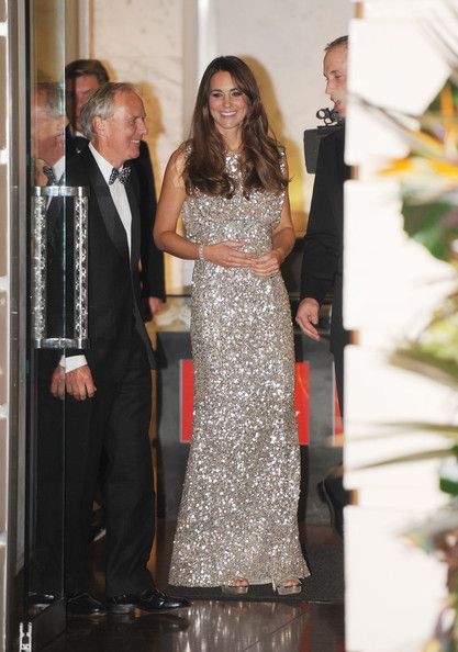 Prince William and Kate Middleton leave the Tusk Trust Awards in London on September 12, 2013.