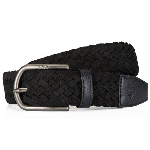 Tod's for Ferrari - Suede Belt #ferraristore #ferrari #tods #belt #suede #musthave #black #prancinghorse #cavallinorampante #accessory #elegance #exclusive #refined #sophisticated