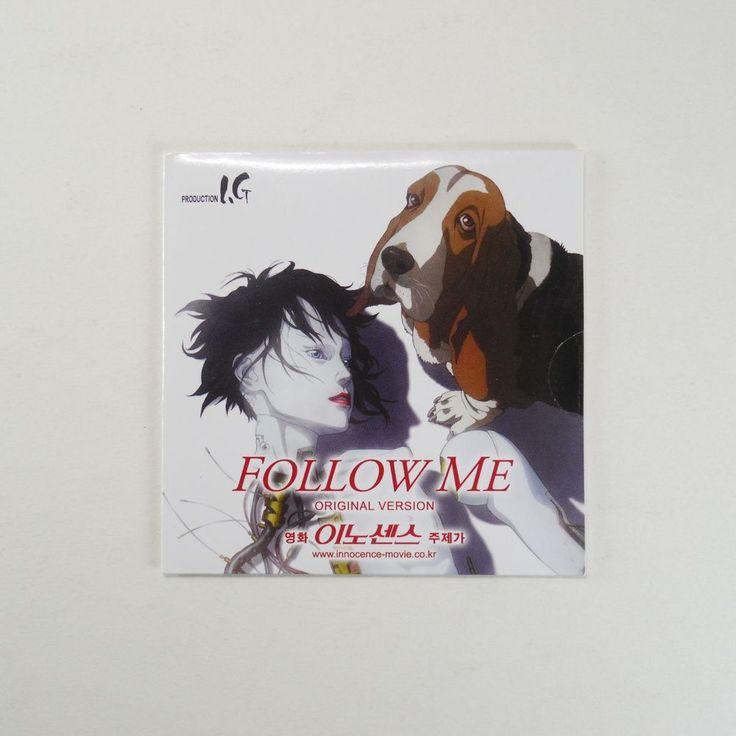 "Innocence ""Follow Me"" Promo CD [Korea Edition, 3"" Single CD, Card Sleeve] 2004 #AnimationScoreSoundtrack"