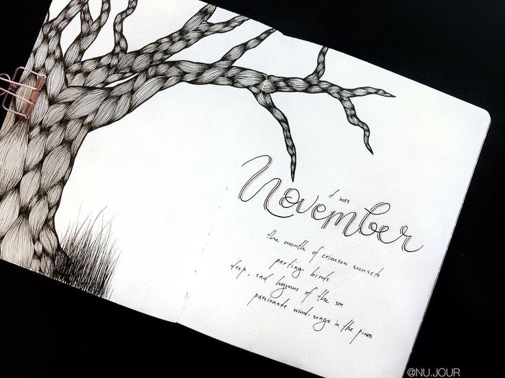 The 25+ best Bullet journal november cover page ideas on Pinterest - what is a cover page
