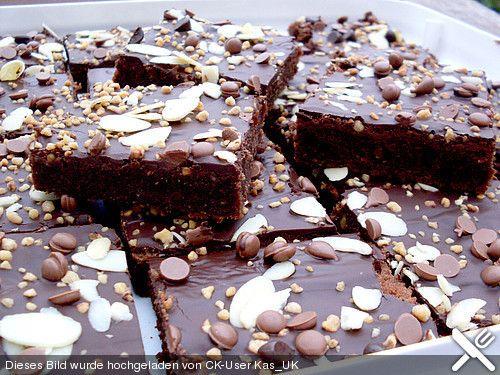 Schokoladentraum - Blechkuchen, ein schmackhaftes Rezept aus der Kategorie Kuchen. Bewertungen: 248. Durchschnitt: Ø 4,6.