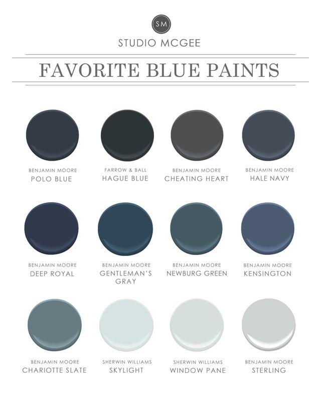 Ask Studio McGee: Our Favorite Blue Paint   STUDIO MCGEE   Bloglovin'