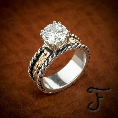 41 best rings images on Pinterest Western engagement rings