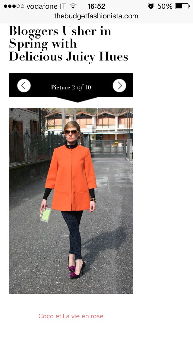 Coco et La vie en rose fashion blogger featured on The Budget Fashionista!!