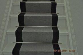 25 beste idee n over trap loper op pinterest trap lopers tapijt traplopers en tapijt loper - Witte trap grijs ...