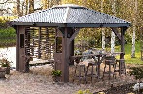 Hot Tub Gazebo Kits | Spa Gazebos,Spa Enclosures,Wood Gazebo,Metal Gazebo,Enclosure Hot Tub ...