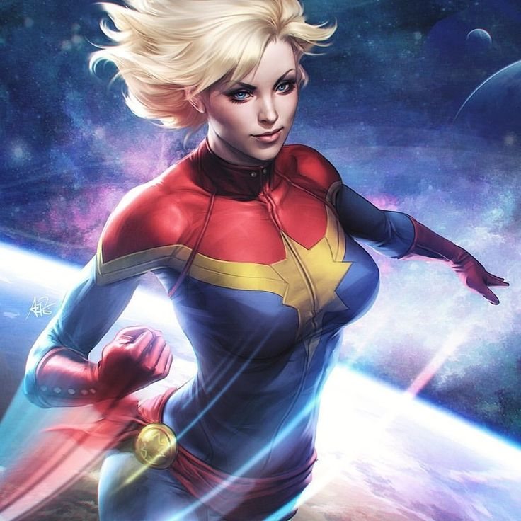 Captain Marvel - Stanley Lau