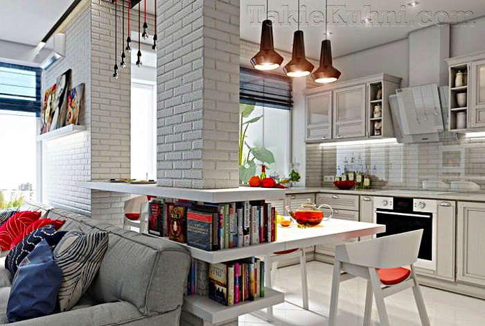 Картинки по запросу кухня гостиная в скандинавском стиле