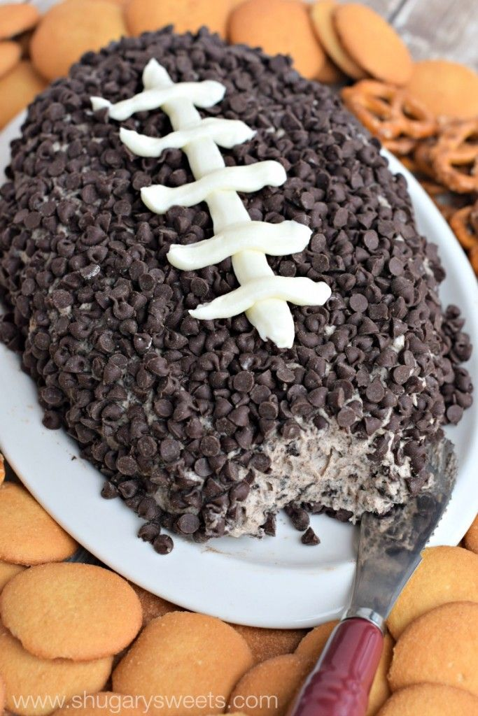 This is the last time football shaped sweets are appropriate for the year, so make the most of it. Get the recipe from Shugary Sweets.   - Delish.com