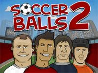 Kick and pass the soccer ball to hit all of the referees and score in every goal. Try to collect coins and limit your kicks.