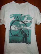 Owl City Concert t-Shirt Spring Tour 2010 Size Small I WANT IT NOOOOOWW