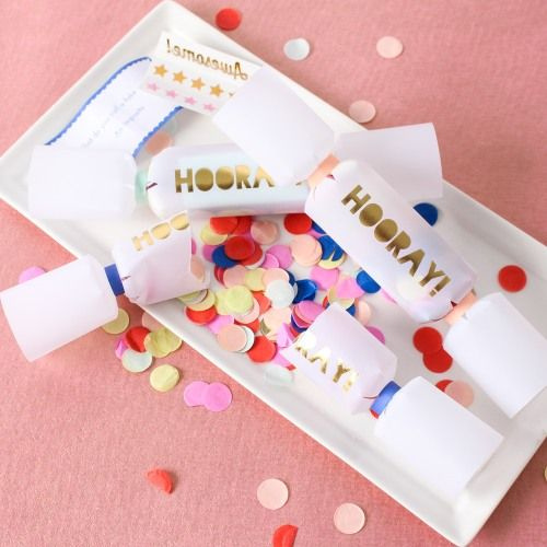 Have your guests bursting with excitement thanks to these confetti crackers.