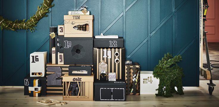 Paket och julklappstips till barn presenter från IKEA