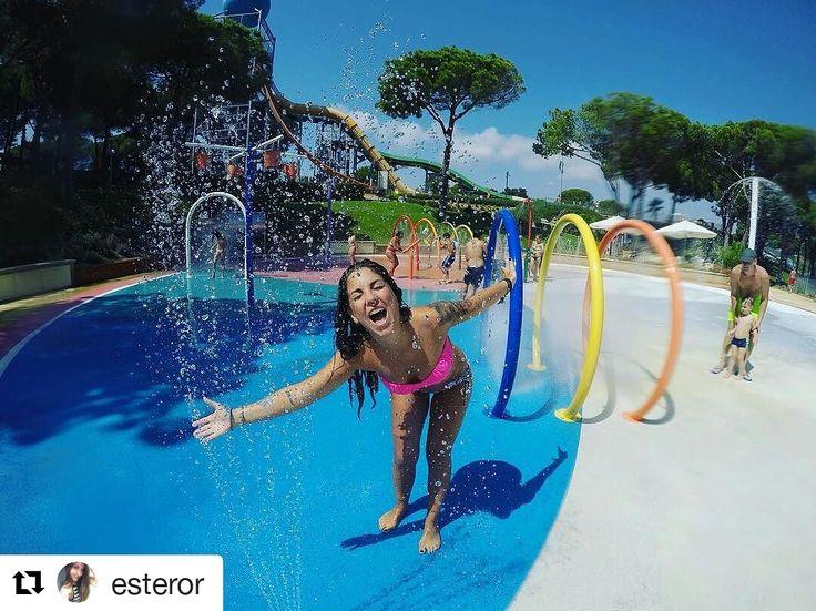 I el repost de la setmana és per aquesta magnifica foto  de la @esteror. Moltes gràcies per compartir-la amb nosaltres. #waterworldlloret #waterpark #lloretdemar #viulloret #costabrava