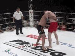 Sergei Kharitonov vs Murilo Ninja Rua (Harai Goshi)