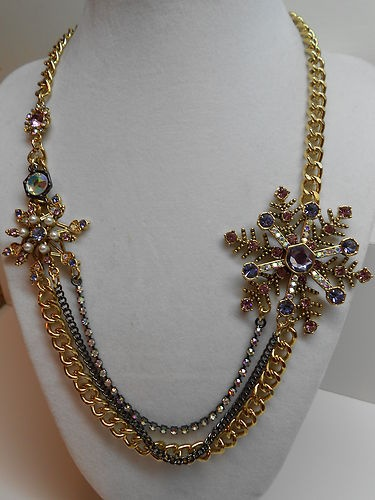 "Love it so much! Want it so bad! Betsey Johnson ""Tzarina Princess"" necklace."