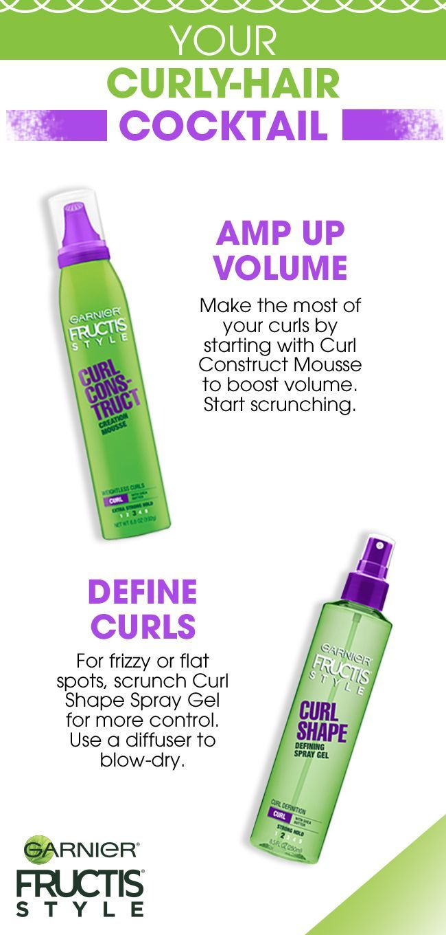 Get The Curls Of Your Dreams In 2 Easy Steps Using Garnier Fructis
