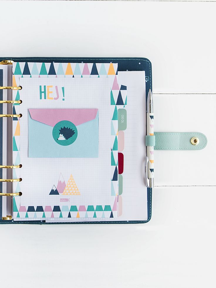 customise your planner with our mountains collection