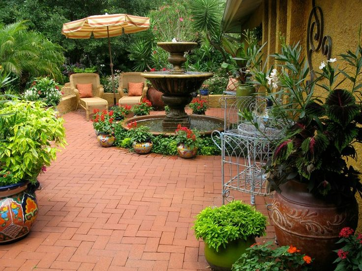 336 Best Images About Courtyard Landscaping On Pinterest