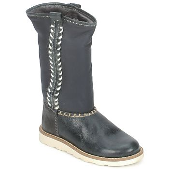 Young girls have ethic style with this Hip boot with local homemade looking top stitching!