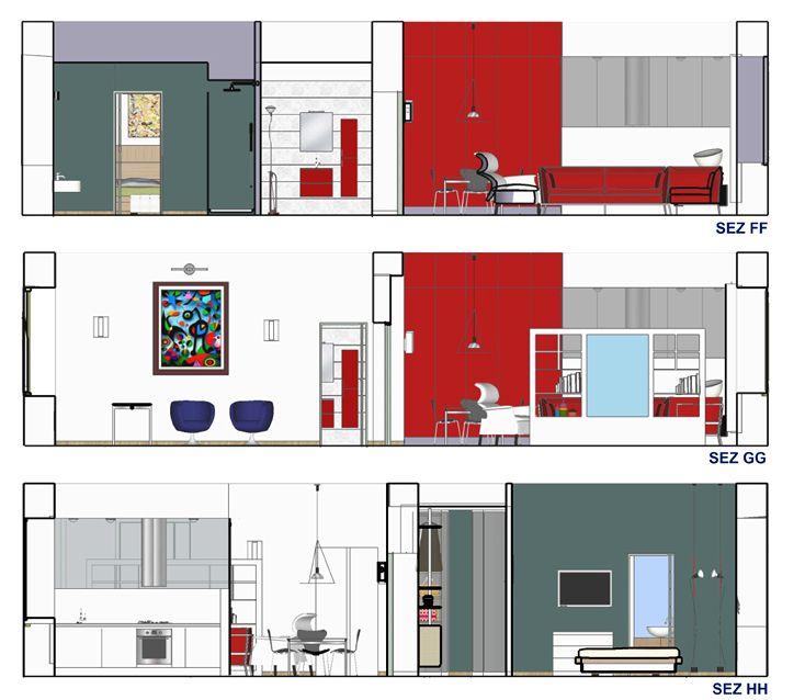 Esami finali Corso di Interior Design (www.madeininterior.it): progetto di interni, Miriam Zanca