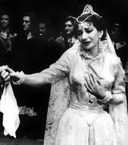 Maria Callas, Lucia di Lammermoor, 1955