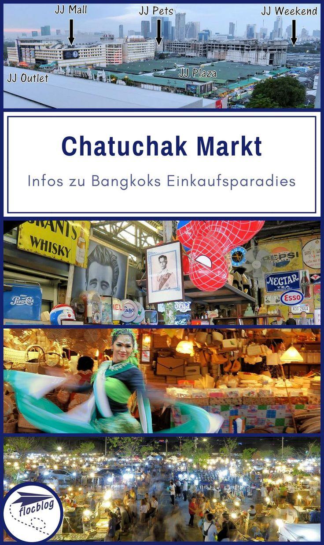 Der Chatuchak Markt steht auf jeder Bangkok Top 5 Liste und zu recht. Manche Besucher legen Bangkok extra wegen dem Markt auf ein Wochenende. Chatuchak ist aber auch unter der Woche ein tolles Erlebnis. #Thailand #Bangkok #Backpacking #Rucksackreise #Weltreise #Asien #Reisetipps #Markt #Nachtmarkt #Vergleich #Streetfood #günstig #Einkaufen #Souvenir #Shopping