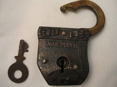 ANTIQUE RUSSELL AND ERWIN MAIL POUCH PADLOCK WITH non-original KEY & 77 best Padlocks images on Pinterest | Padlocks Cutaway and Key lock