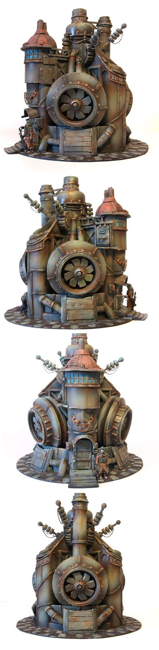 302717_md-Buildings, Factory, Power Plant, Scifi, Steam, Steampunk, Terrain, Wargame.jpg (550×2239)