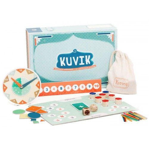 KUVIK 1 matek doboz oktató játék 6 éves kortól - KUVIK