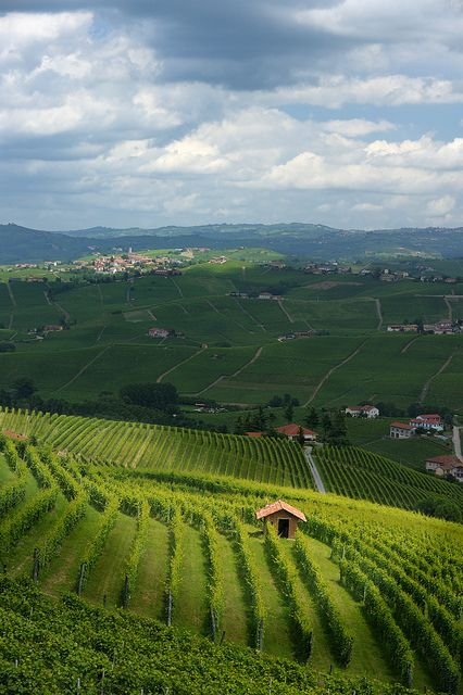 Giochi di nuvole * games of clouds Langhe, province of Cuneo, region of Piedmont, Italy by Anteriorechiuso Santi Diego