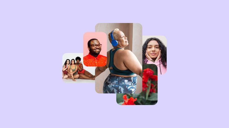 Pinterest adopta una nueva política publicitaria que acepte todos los cuerpos | Pinterest Newsroom Trending On Pinterest, Healthy Lifestyle Habits, Mental Health And Wellbeing, Body Shaming, Mean People, Love Illustration, Liposuction, Body Types, Detox