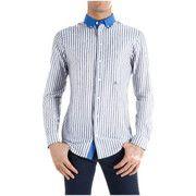 Camicie maniche lunghe Etro Camicia  Mod. 138146156 Bianco/Nero