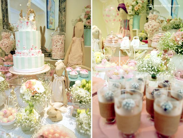 Lots of charming details for this Maileg themed party