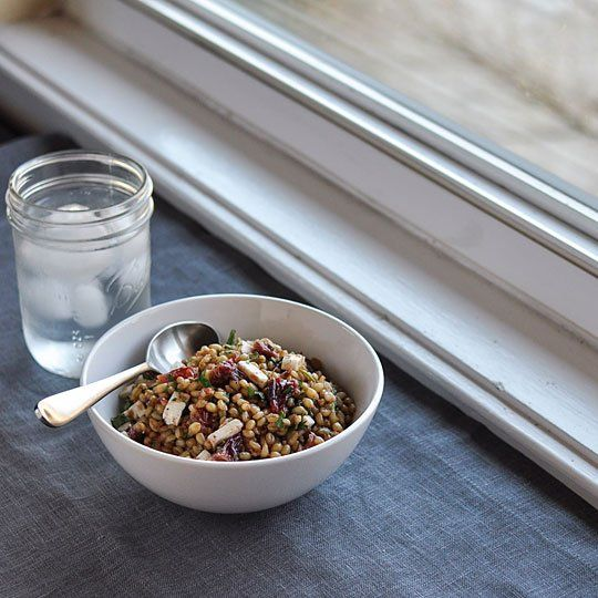 Recipe | Wheat Berry Salad, Berry Salad and Vinaigrette Recipe
