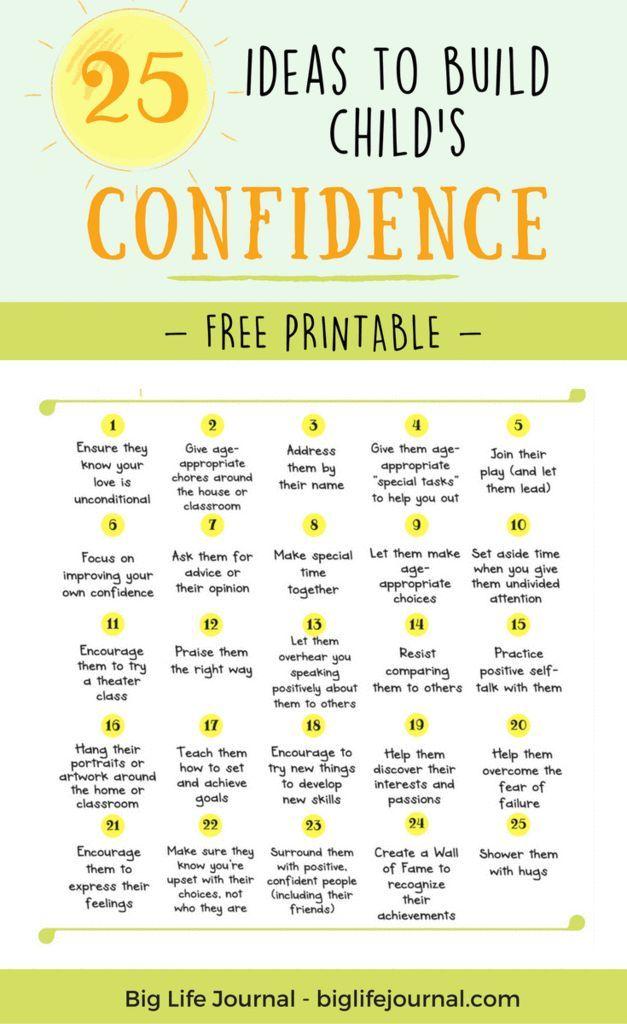 25 Dinge, die Sie jetzt tun können, um das Vertrauen eines Kindes zu stärken