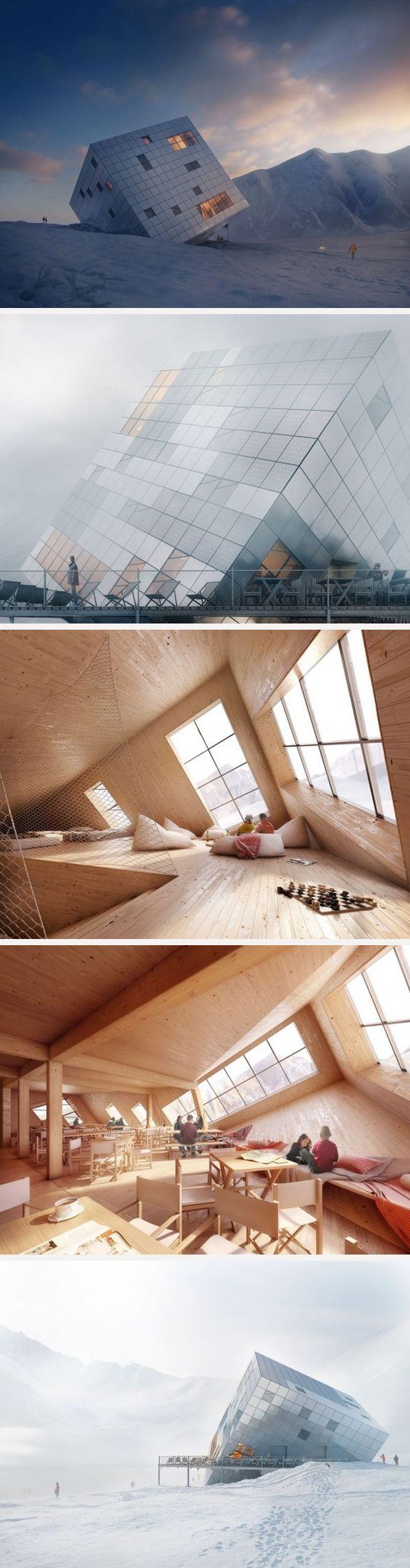 #Espacios inclinados #Arquitectura
