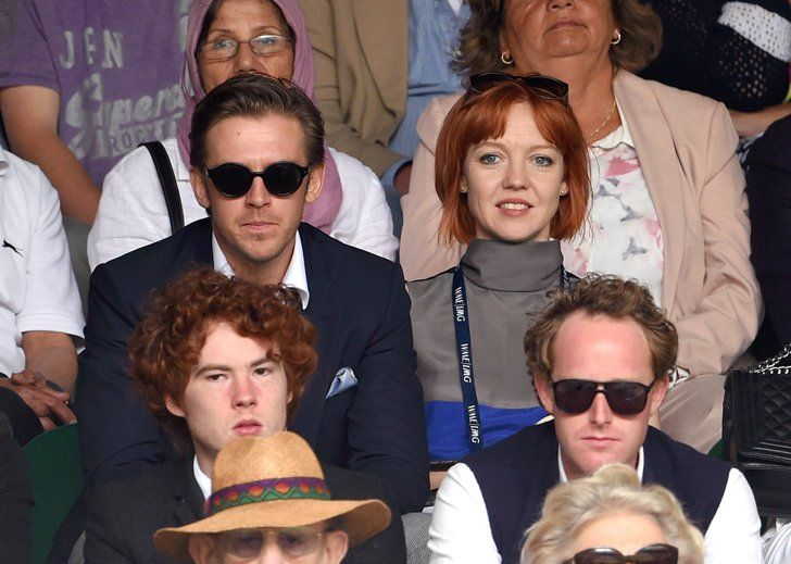 Pin for Later: We Played Spot the Celebrity Tennis Fan at Wimbledon Dan Stevens and Susie Hariet
