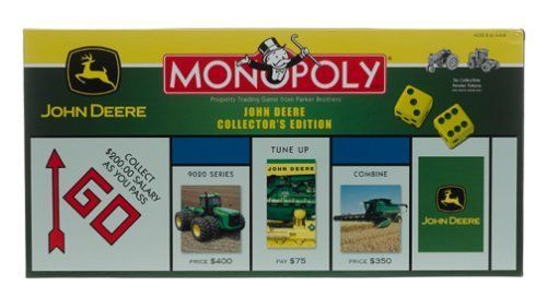 John Deere Monopoly Board Game COLLECTORS EDITION  #ParkerBrothers