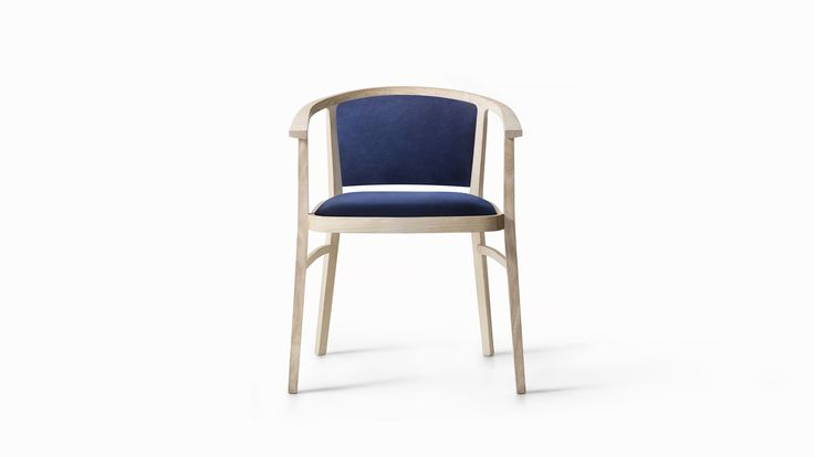 LEMA   JIJI by Piero Lissoni, Salone del Mobile 2017.    A perfect combination of elegance and functionality, tradition and modernity, Jiji has a graceful, sinuous form. The simple structure made from natural ash or stained heat-treated ash frames the soft padded seat and seatback.