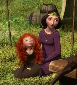 1000 Images About Queen Elinor And Merida On Pinterest