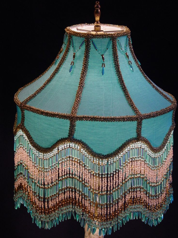 64 best one cent fringed lamp shades images on pinterest lamp victorian lamp shade idea always love beaded lamps aloadofball Gallery