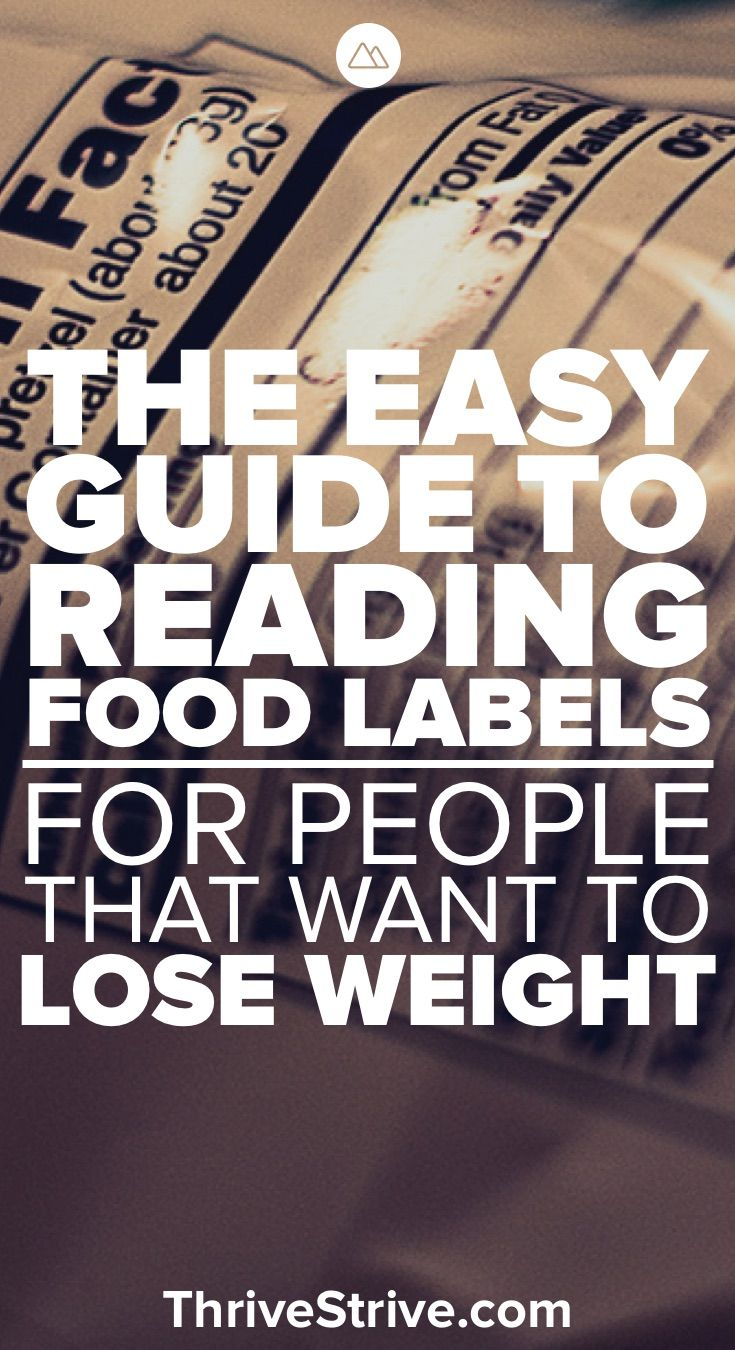 If You Want To Lose Weight You Need To Understand The Things That You Are  Eating