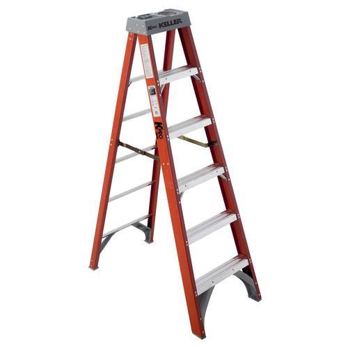 KPro 976  6' Type IA Fiberglass Step Ladder