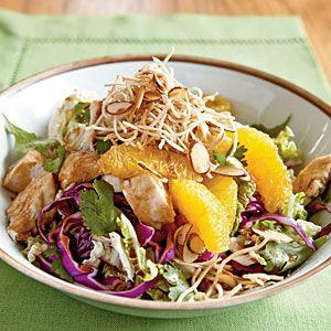 Asian Chicken Salad Recipe   MyRecipes.com