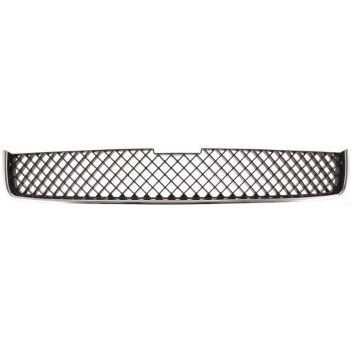 2005-2009 Chevy Uplander Upper Grille, Chrome Shell/ Dark Gray