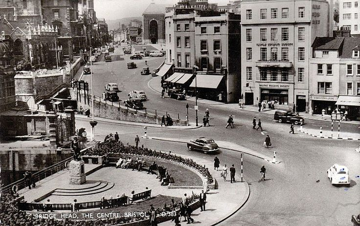 Bridge Head, Bristol Centre, in 1950's