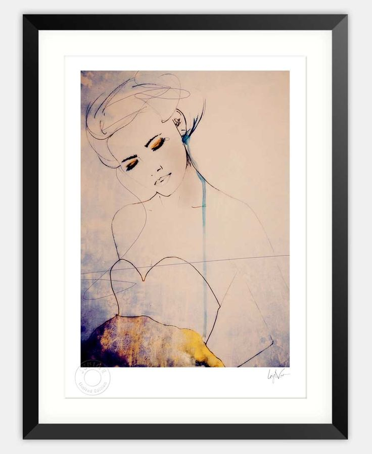 Abstractions Aside-Limited Edition Framed Print